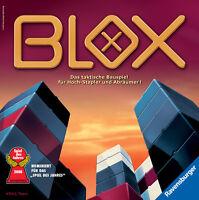 Ravensburger BLOX Taktikspiel Strategiespiel Brettspiel Kinder Spiel Bauspiel
