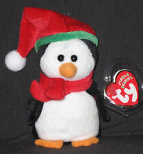 TY SLEDDY THE PENGUIN JINGLE BEANIE BABY - MINT with MINT TAGS