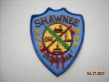 """""""New Condition""""   Shawnee Oklahoma Tribal Police Sleeve Patch--"""