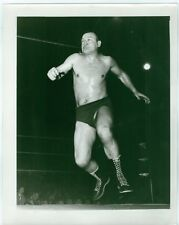 VINTAGE 8X10 PHOTO PICTURE OF PRO WRESTLER GENE KINISKI CANADA CANADIAN