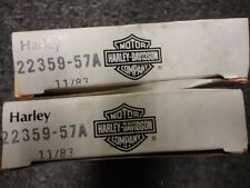 Genuine Harley-Davidson Ring Sets 4 two pistons# 22359-57A .030os Sportsters