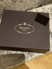 PRADA Empty Shoe Gift Box Black Used