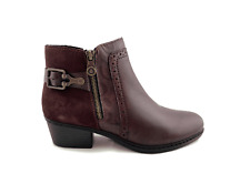 Ladies Rieker Burgundy Boot, L75585-30 various sizes available