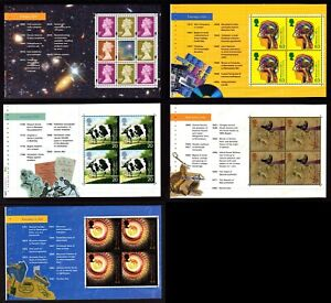 Choose ONE OR MORE MNH DX23 Prestige Booklet WORLD CHANGERS Individual Panes