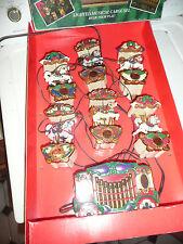MR. CHRISTMAS LIGHTED MUSICAL CAROUSEL 21 CHRISTMAS CAROLS VINTAGE USED