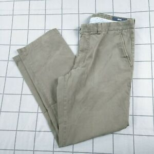 BRAX Ernesto Natural Kapok Mens Chinos Trousers Size 36W / 30L Brown