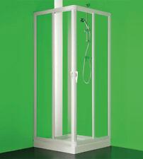 Box cabina doccia, misura cm.70-65x70-65, ad angolo a quattro ante