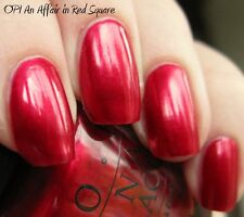 OPI NAIL POLISH Lacquer AN AFFAIR IN RED SQUARE full size