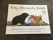 NEW, JACKIE FRENCH, BABY WOMBAT'S WEEK. 20 BY 14.5CM