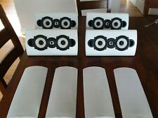 4 ENERGY TAKE SPEAKERS WHITE