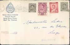 THAILAND front cover to Belgium 1960s