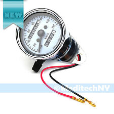 Brand New! Motorcycle Universal LED Tachometer & Speedometer Gauge Odometer USA