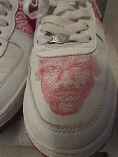 Vintage 2004 Nike Jordan Air Force 1 Custom Jordan Maze Face Size 10.5 AF-1 '82