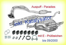 Abgasanlage Auspuff ab Kat Opel Astra G 1.6 /& 1.6 16V Caravan Typ T98 F35/_ Kit