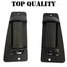 New Black Rear Left and right Chevy Silverado Exterior Door Handle 99-07 TEXTURE
