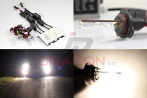 9006/Hb4 4300K Stock White 35W Slim AC Canbus Ballast Xenon HID Kit Fog Light