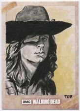 Topps The Walking Dead Season 7 CARL Sketch Card AP Ted Dastick, Jr. 1/1