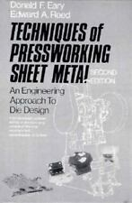 Techniques of Pressworking Sheet Metal: An Engineering Approach to Die Design (2