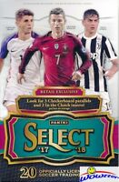 2017/18 Panini Select Soccer EXCLUSIVE Sealed Retail Box-5 Parallels/Inserts !!