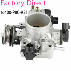 16400-P8C-A21 Throttle Body with All Sensors For Honda Accord Acura TL CL 97-03
