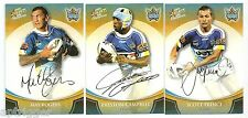 2008 Select NRL Champions Printed Gold Foiled Signature TITANS Set of 3