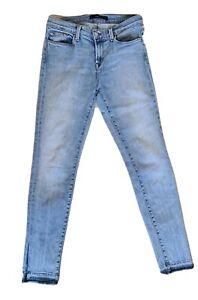 J Brand women's skinny ankle jeans size 27