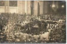 WW1 FOTO FUNERALE MESSA SALMA MILITE IGNOTO