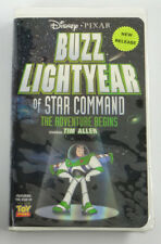 BUZZ LIGHTYEAR OF STAR COMMAND: The Adventure Begin (Disney Pixar Clamshell)~VHS