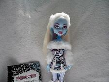 Monster High Abbey Bominable 1st Wave Rare