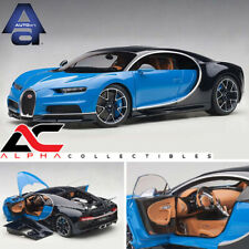 AUTOART 70993 1:18 BUGATTI CHIRON 2017 (FRENCH RACING BLUE/ATLANTIC BLUE)
