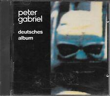 "PETER GABRIEL - RARO CD GERMANY "" DEUTSCHES ALBUM """