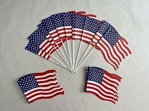 USA bunting and flags pack
