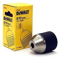 "DEWALT KEYLESS CHUCK DT7042 10MM 1/2"" x 20 mount cordless drill  12v 18v 14.4v"