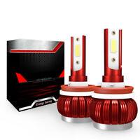 2x 36W 6000LM H4 H7 H11 Car LED Conversion Headlight Bulb KIT Canbus 6000K