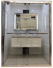 First choice shower screen 1000-1100*1950,8mm glass we have show room in Belmore