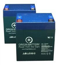Schwinn S150 Battery (2006 & Up) Kit, 2 Pack High-Rate Discharge 12V 5Ah