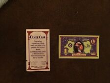 Wholesale 100 Bulk Camel Cash Bucks Money JOE COOL CAMEL Cigarette 1980 coupons