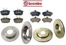 For Volvo S40 V40 00-04 Brembo Full Front Rear Brake Rotors & Bosch Pads Kit