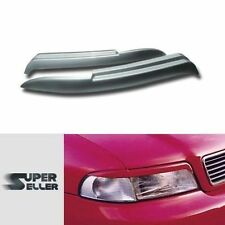 PAINTED For Audi A4 B5 S4 RS4 HEADLIGHT LAMP COVER TRIM EYEBROWS EYELIDS ☜