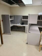 Industrial l shaped corner cubicle, paid thousands brand new