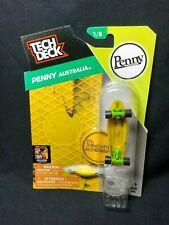 Penny Australia Tech Deck 1/8 Yellow Marble Fingerboard Skateboard NIP Rare