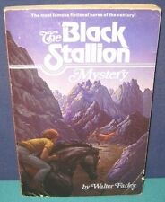 """""""THE BLACK STALLION MYSTERY"""" - Famous Series by Walter Farley - 1957 - sc/pc"""