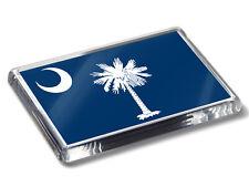South Carolina Flag American State National Colours High Quality Fridge Magnet