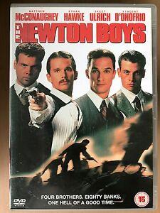 Newton Boys DVD 1998 True Life Western Bank Robbers Crime Movie