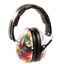 Bebé Banz Nuevo Kidz Protectores de oído Diseño Geométrico Nuevo Con Etiqueta