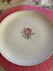 Pattern: Imperial Rose By Fine China Of Japan 6702. 4 Dinner Plates.