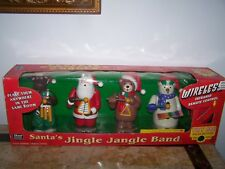 Santa's Jingle Jangle Band - Animated Christmas Carol Figurines Plays 15 Carols