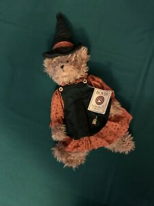 """Boyds Bear Head Bean Collection Witchy Boo NWT 19"""""""