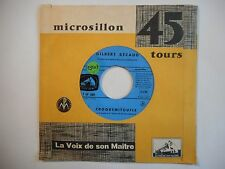 45t SIXTIES PORT 0€ ▓ GILBERT BECAUD : CROQUEMITOUFLE / LE MUR
