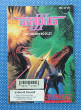 Gradius III | Instruction Booklet | Spieleanleitung | Super Nintendo |